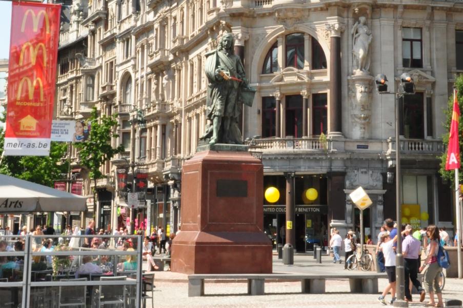 Davis Teniers II - Teniersplaats, Antwerpen