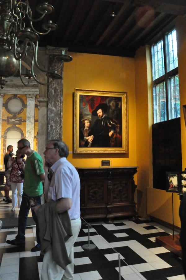 Rubenshuis w Antwerpii -