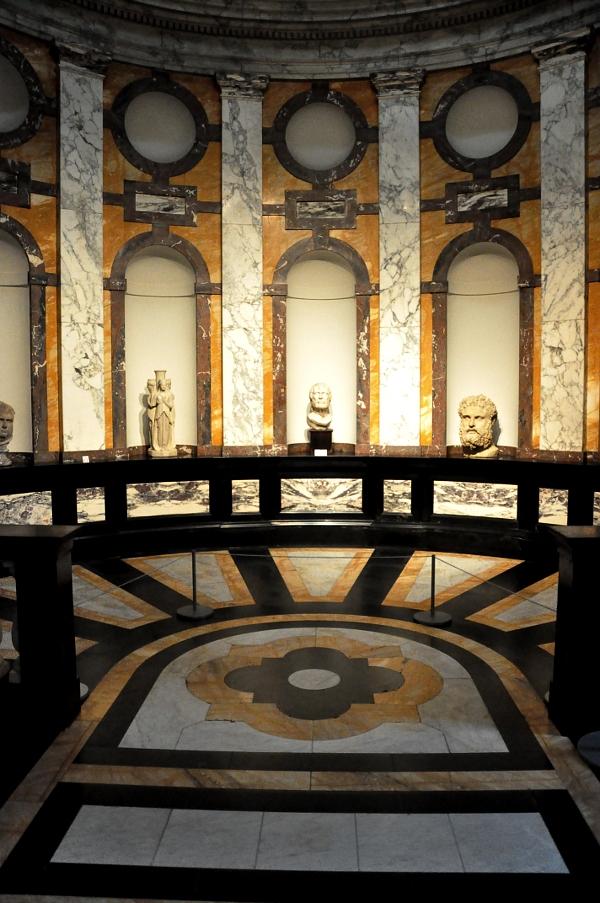Rubenshuis - sala z antycznymi popiersiami