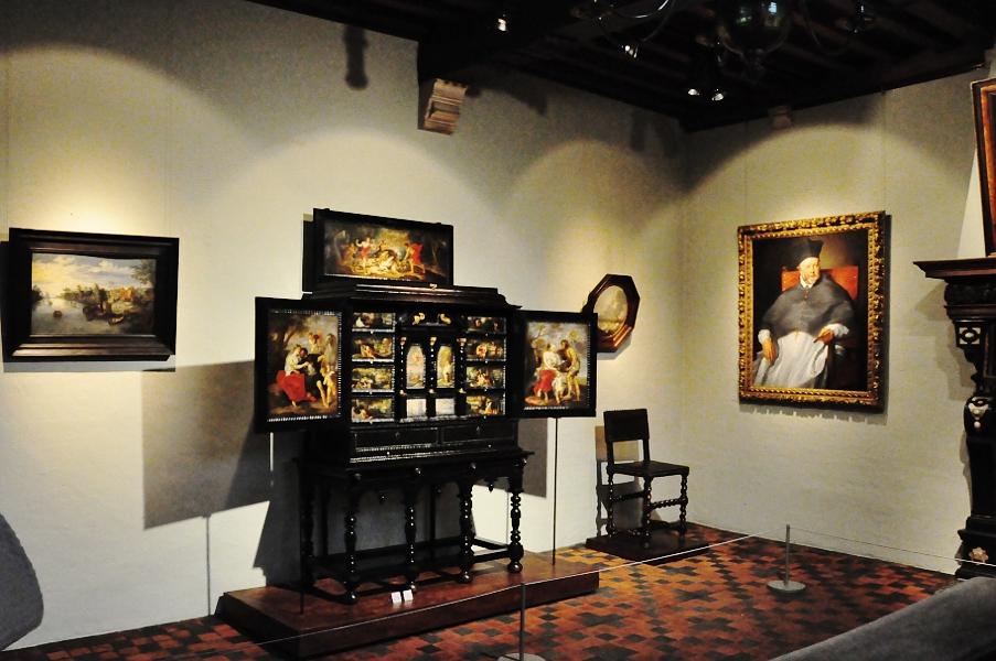 Rubenshuis - szafka z obrazami