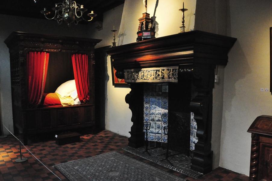 Rubenshuis - sypialnia Rubensa
