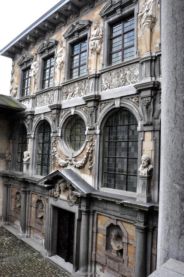 Rubenshuis - drugie skrzydło domu w stylu włoskiego renesansu