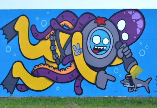 Graffiti Scheldelaan AntwerpenGraffiti Scheldelaan Antwerpen