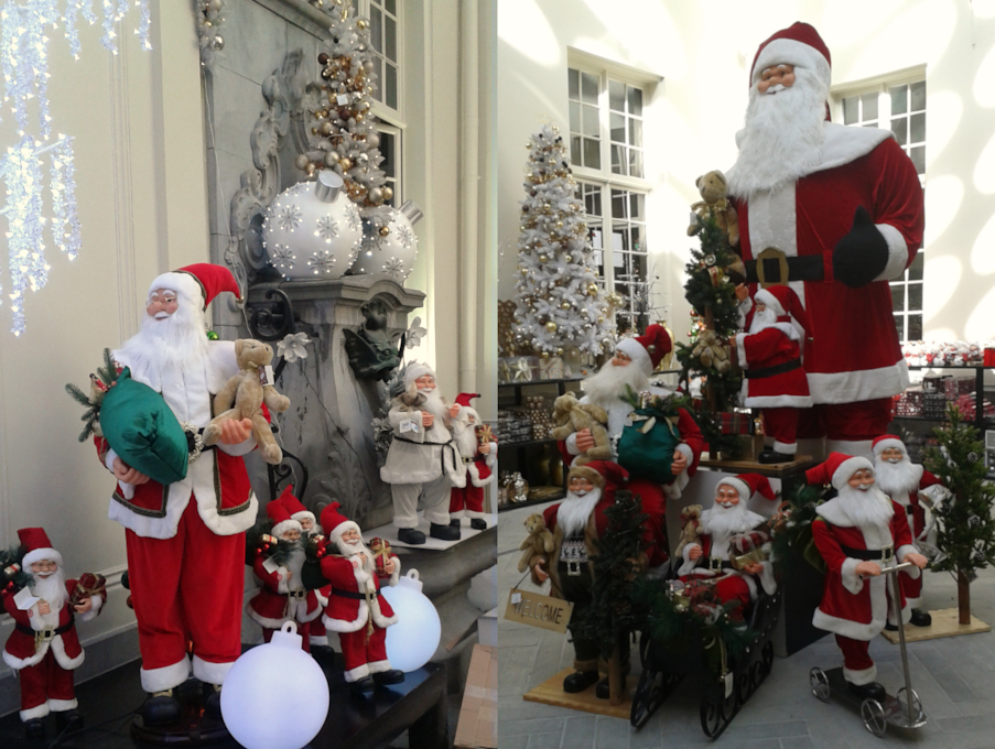 Sklep bożonarodzeniowy w Antwerpii