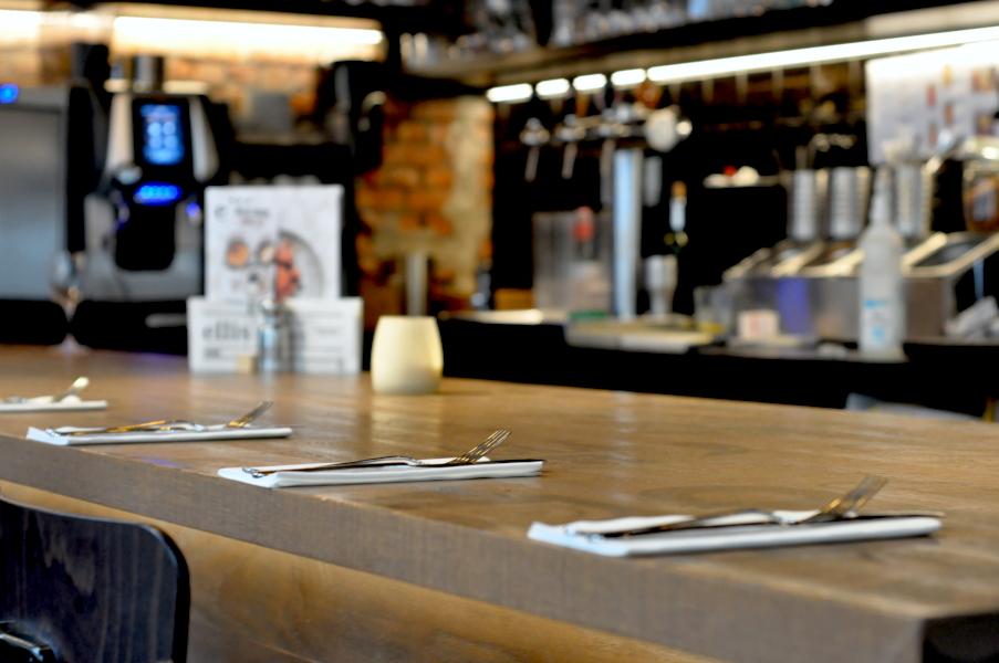 Restauracja Ellis Burger Antwerpen przy Leopold DE Waelplaats