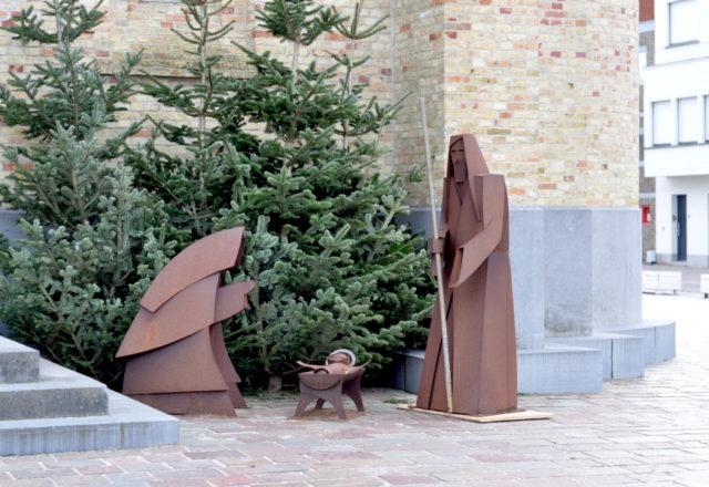 Szopka bożonarodzeniowa w Nieuwpoort