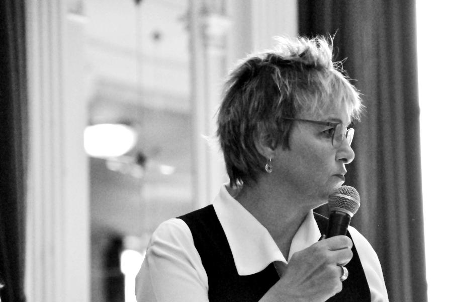 Béatrice Delvaux z Le Soir - Kongres Kobiet w Brukseli 2018