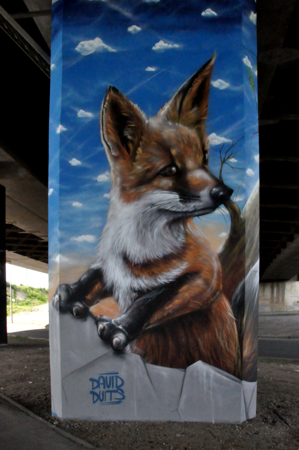 Graffiti w Merksem