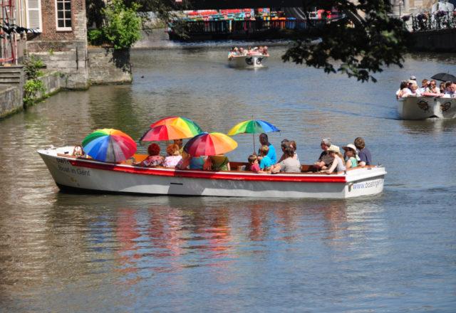 Gent - rejs po kanale