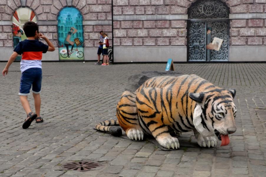 Tygrys na Grote Markt