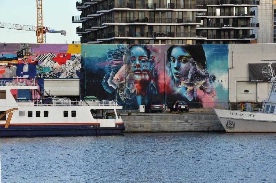 Sreet Art - Eilandje Antwerpen