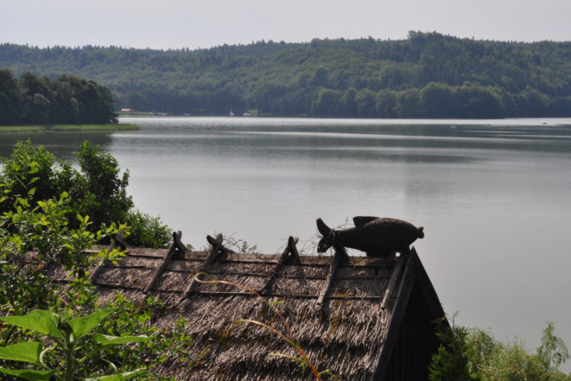 Kaszubskie jezioro