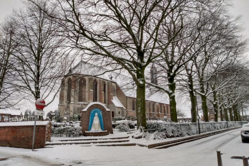 Zima w Antwerpii (Zandvliet)