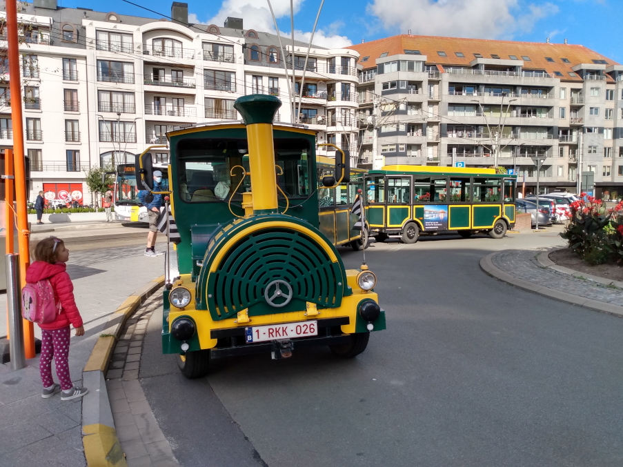 Tourist's trein - Blankenberge