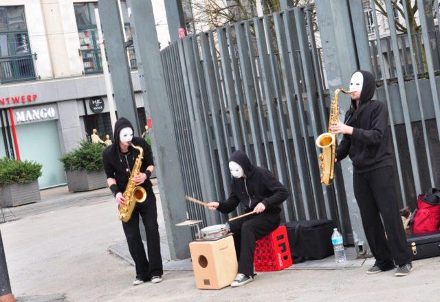 Blow Trio w Antwerpii