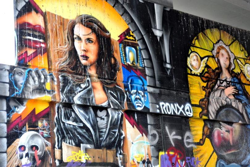 Park Spoor Noord - graffiti skatepark