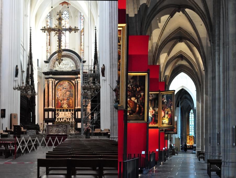 Katedra Najświętszej Marii Panny w Antwerpii - De Onze-Lieve-Vrouwekathedraal in Antwerpen