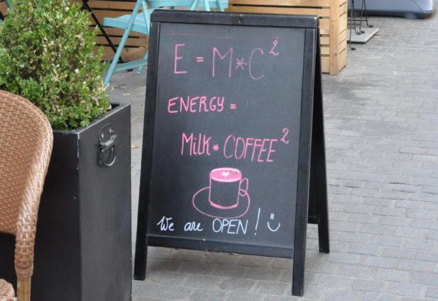 mc2 - kawiarnia w Antwerpii