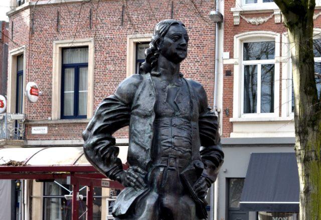 Pomnik Piotra Wielkiego w Antwerpii