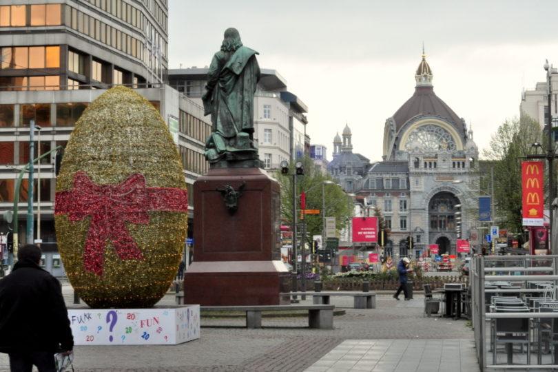 Paasei - Pisanka - Meir Antwerpen