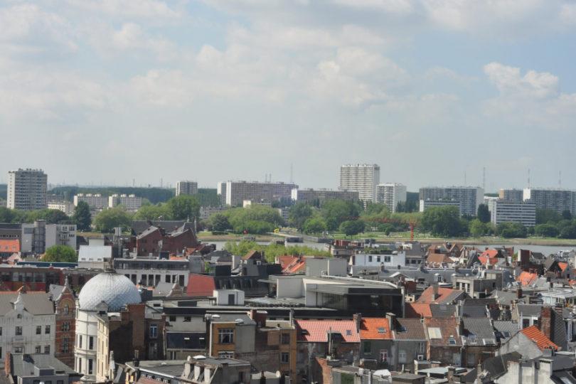 Panorama Antwerpii