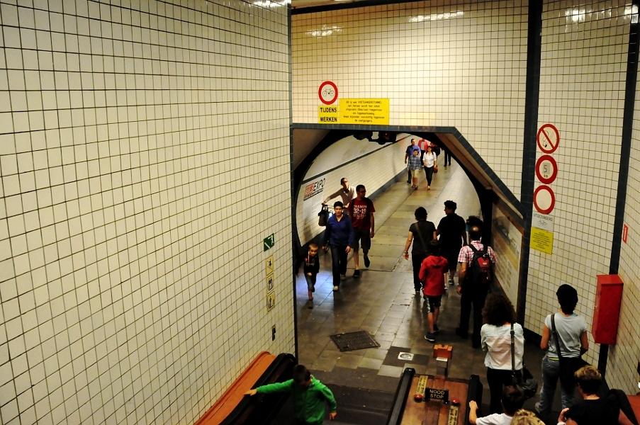 Wejście do Tunelu św. Anny