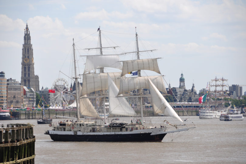 The Tall Ships' Races w Antwerpii