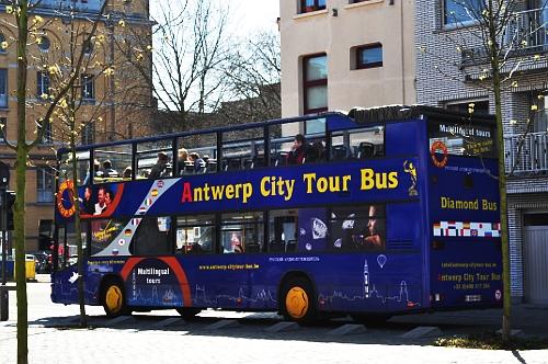 autobus turystyczny - antwerpia