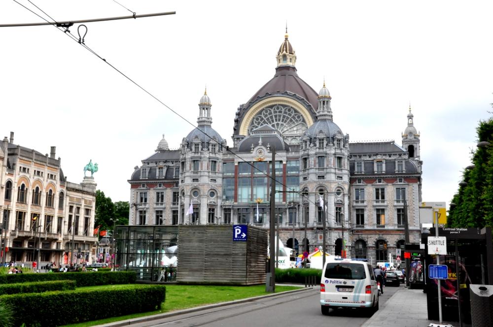 dworzec kolejowy w Antwerpii