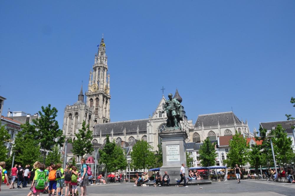 Antwerpia: Groen Plaats