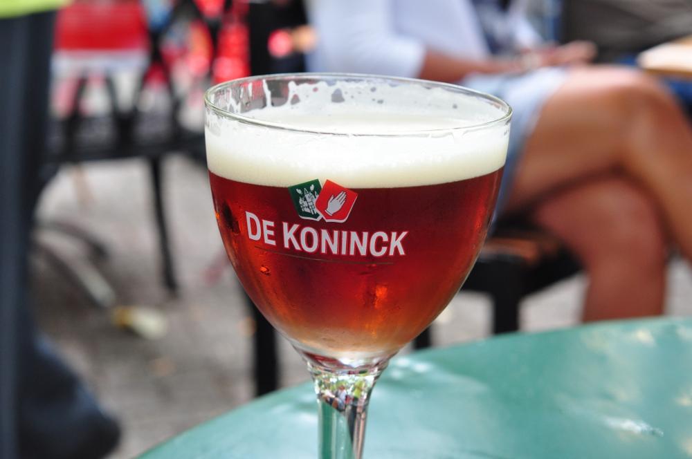 Antwerpskie piwo De Koninck